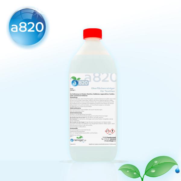 a820 Textil-Reiniger